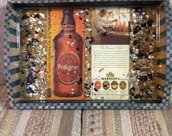 Re-Done It Pedigree beer tray