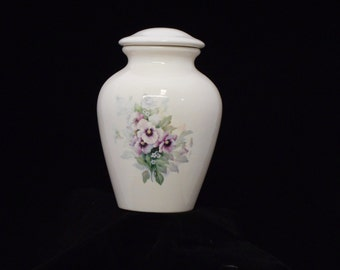 Pansey Ceramic jar with lid,urn, Jar with lid,large urn, large jar, art pottery, handmade