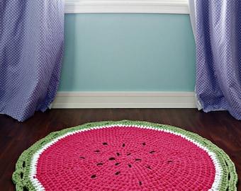 The Watermelon nursery area rug