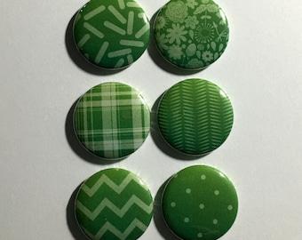 Toque verde Ombre