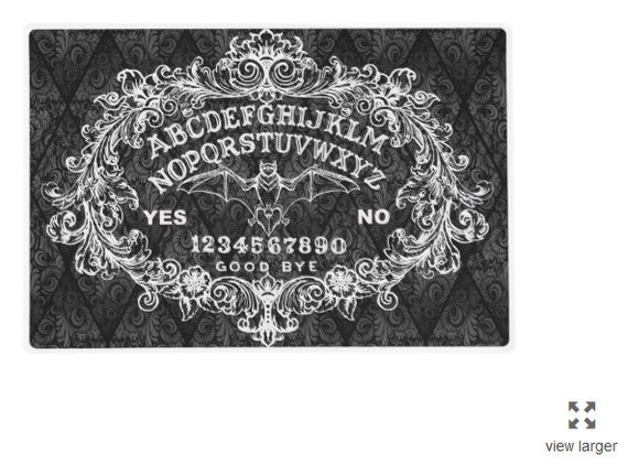 Ouija Place mat 2 sided