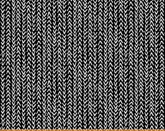 Windham Harmony Black and White Black with White Arrow Fabric 42189-1 BTY
