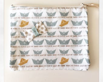 Fabric range pacifier pouch