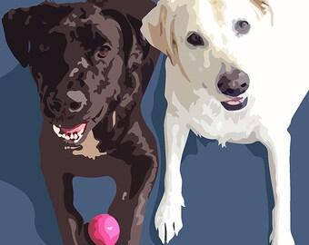 Graphic Pet Portraits