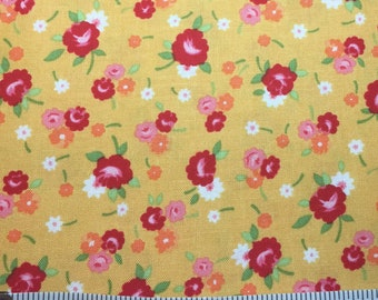 Lakehouse Dry Goods Pam Kitty Pretties by 1930's Reproduction Quilt Fabric
