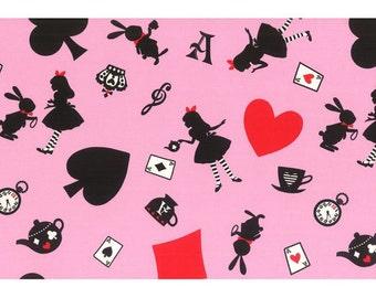 Girls Story Alice in Wonderland - Alice L51-20 Pink, Lecien of Japan, select a length