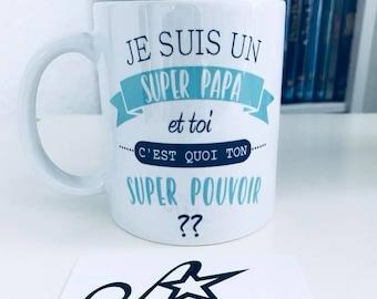 """""""super power"""" mug"""