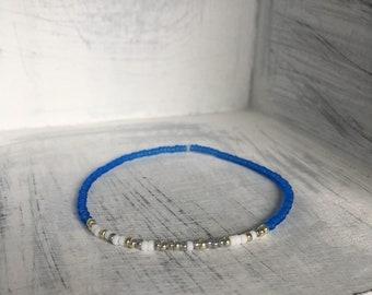 My Person Bracelet - Morse Code Stretchy Bead Bracelet - Best Friend Bracelet - Girlfriend Gift - Wife Gift- BFF Bracelet - Jewelry