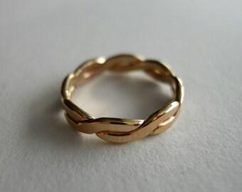 14k Gold Filled Flat Twist