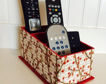 Remote Control Holder, Remote Control Organize, Remote Control Caddy, Home Decor, Organizer