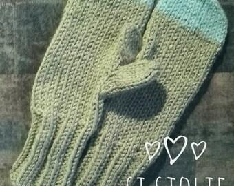 SI Sjolie tough warm mittens!