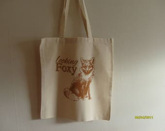 Looking foxy, fox bag