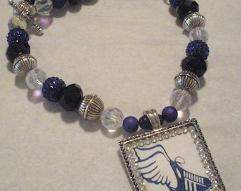 Personalized Sports Magnetic Pendant on Team Spirit Beads