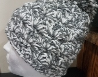 Shell Stitch Beanie Crochet Pattern