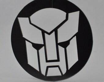 Logo Metal Wall Art - Transformer & Transformer wall art | Etsy