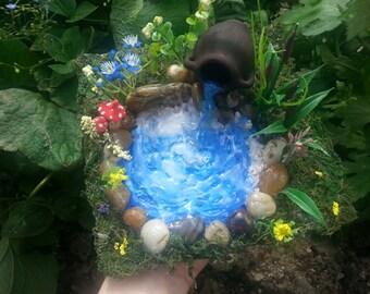 Fairy Garden Pond, Fairy Pond, Miniature Pond, Fairy Garden Accessory, Miniature Garden Pond, Miniature Garden Accessory,