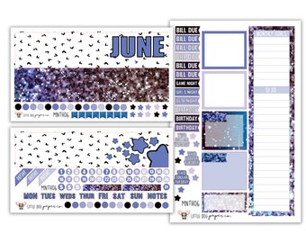 MNTH06 // June Monthly View Kit // Starrily