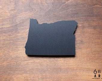 Oregon State Chalkboard Magnet | Small Chalkboard | State Shapes | Gifts From Home | Pacific Northwest | Cascadia
