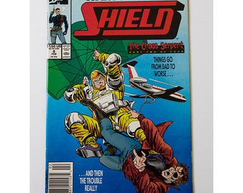 Nick Fury Agent of Shield Number 8 1989