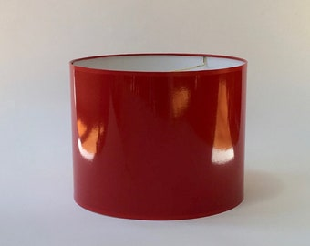High Gloss Red Lamp Shades