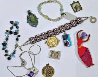 Jewelry Lot - Destash - Vintage - Chains