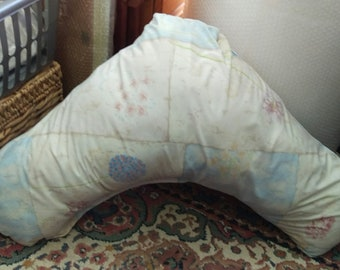 V-shaped Cushion and Cover - pastels