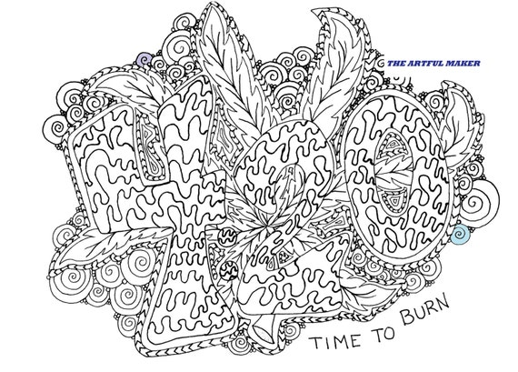 Hippie Coloring Pages Designs Shefalitayal