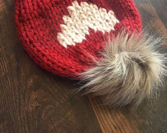 Adult Big Heart Beanie