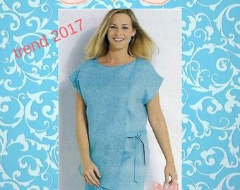 Pattern apron dress