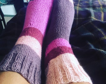 Casual Knit Socks to Order