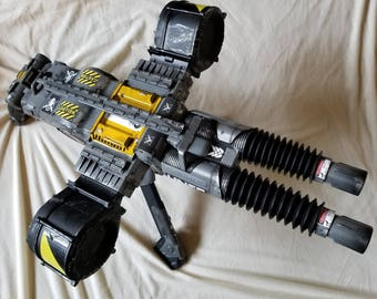 Halo Inspired Heavy Machine Gun Nerf Modification