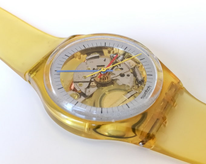 """Swatch GK100 """"Jelly fish"""" - Thin Hands - 1985"""