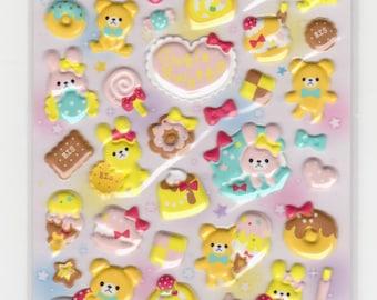 Rabbit Stickers - Puffy Stickers - Mind Wave - Reference F552F891-92F1418F1632F1703F2429F2765