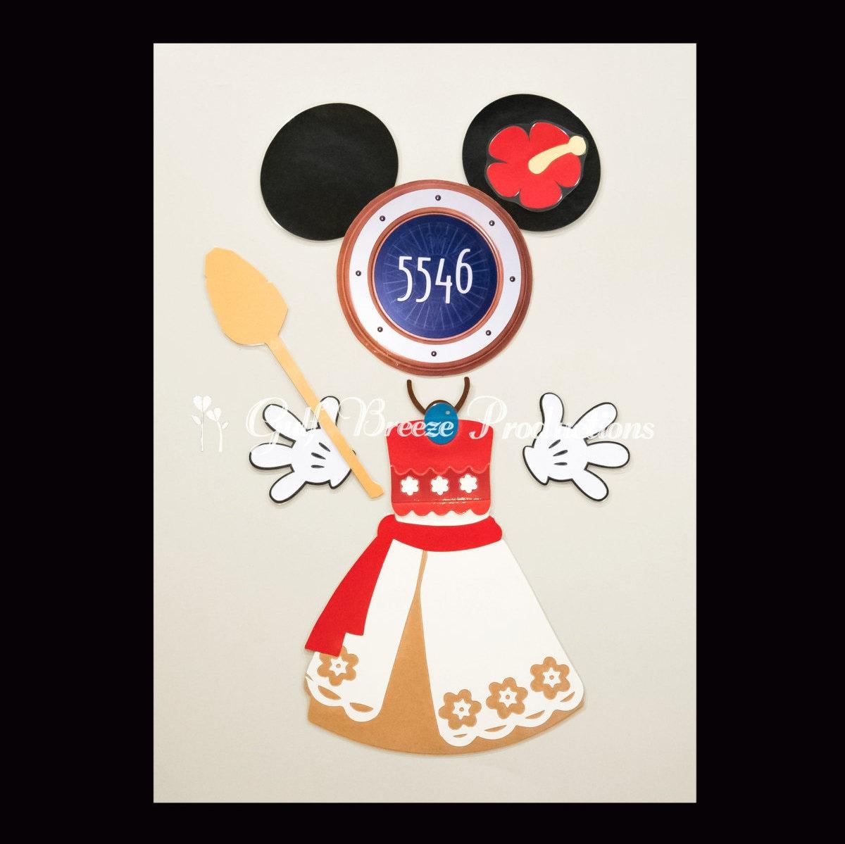 Moana Disney Cruise Stateroom Door Magnet