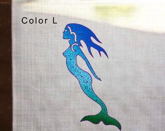 Mermaid Magnetic Screen Saver