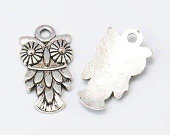 8 - Owl charms