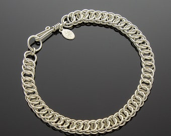 Handmade Half-Persian 4-in-1 Chainmaille Bracelet