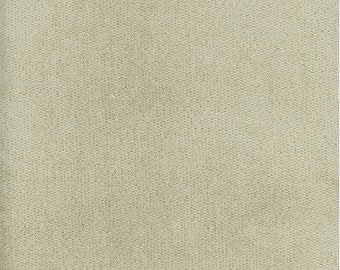 Ivory Chenille Home Decorating Fabric, Fabric By The Yard