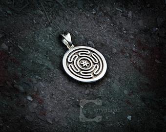 Hekate's Sigil Pendant, 925 Silver