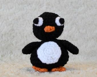 Penguin Amigurumi Crochet Toy
