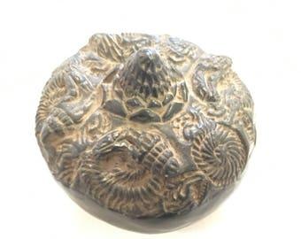 chakra stone shaligram hindu carved sacred stone