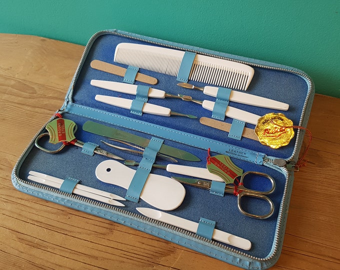 House of Fisher - New Old Stock - Manicure Set - Made in West Germany