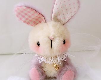 RESERVED FOR M***G ~ OOAK Japanese Anime bunny rabbit by bear artist Jenny Lee of jennylovesbenny bears
