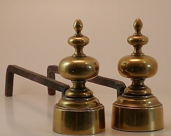 Chênet brass and wrought iron / vintage