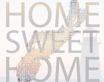 Nova Scotia Home Sweet Home