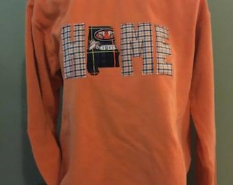 Auburn Home Comfort Colors Applique Sweatshirt
