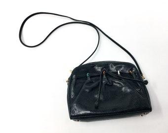 Vintage Judith Leiber Snakeskin shoulder Bag