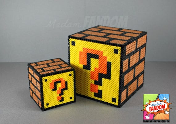 Super mario question box mario question block easter gift like this item negle Gallery