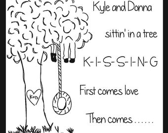 Sittin' in a Tree Save the Date