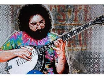 Jerry Garcia Banjo, Jerry Garcia, Garcia, Grateful Dead